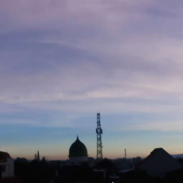 Rooftop Sunrise from East Java