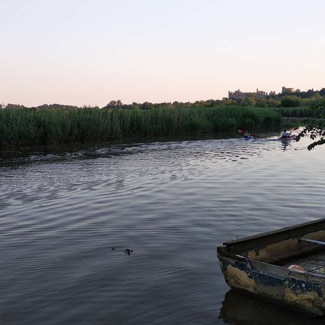 River near Arundel