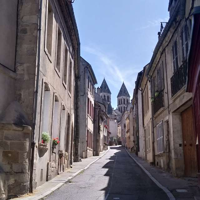 Autun, To The Cathedral