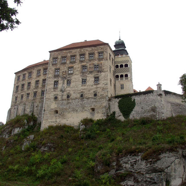 Castle in Pieskowa rock