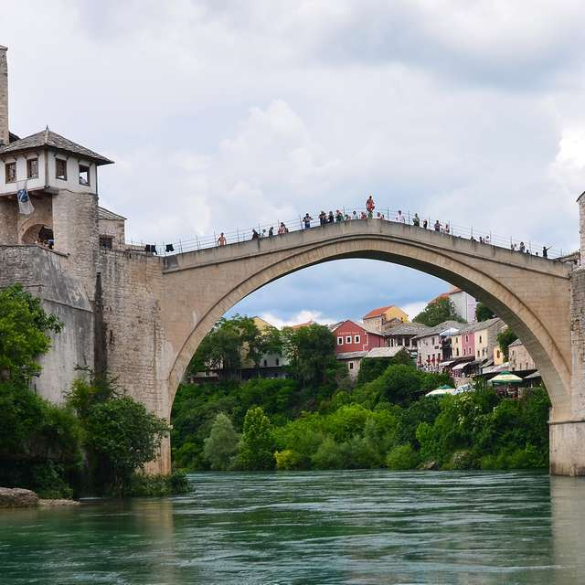 Mostar Old Stone Bridge
