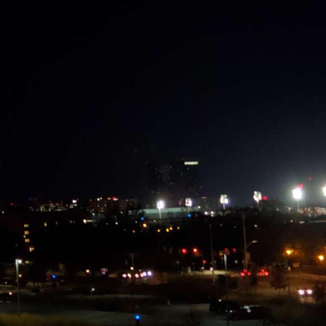 Indianapolis Night Sky