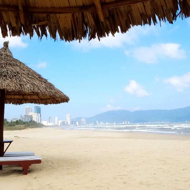 ダナンの浜辺