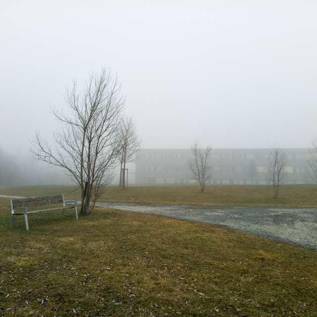 Fog/Nebel in Klagenfurt LKH