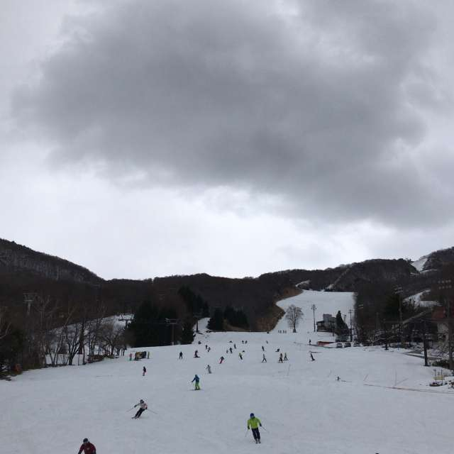スキー 蔵王 天気 温泉 場