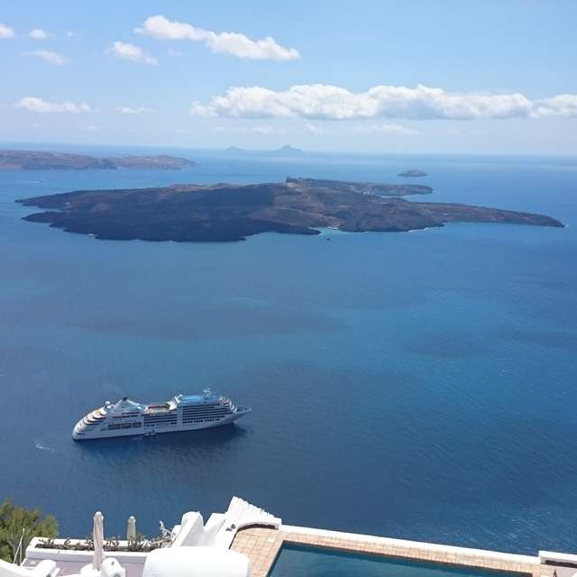 Santorini Clear blue Chill