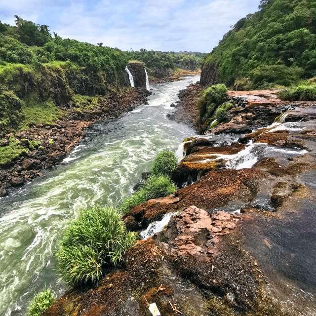 Iguacu Falls in Brasil