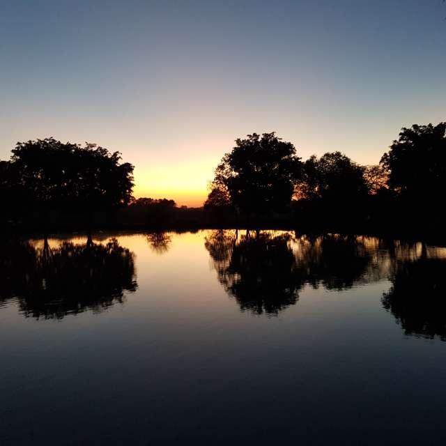 Sunset no lago