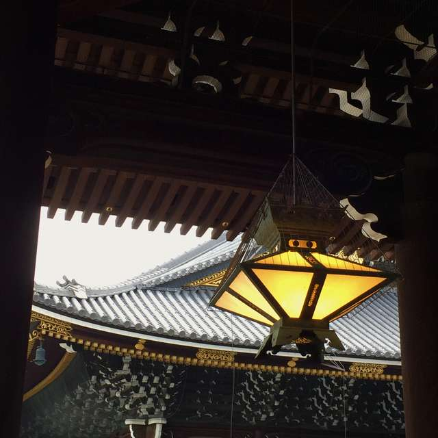 趣のある東本願寺境内