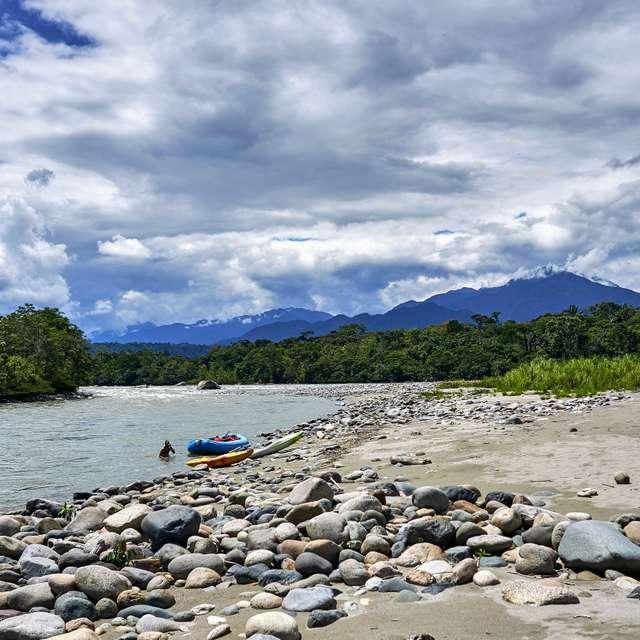 Tena River Rafting Fun