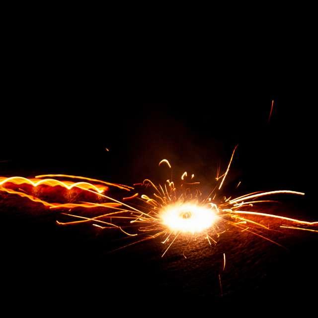 Exploding firework firecracker