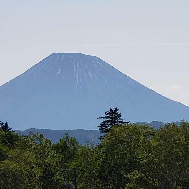 中山峠から観た羊蹄山
