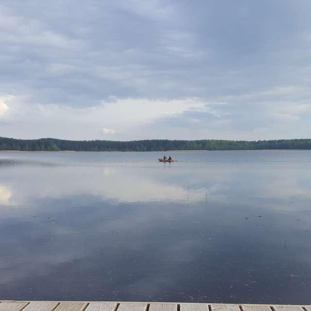 Lake Lilaste Latvia