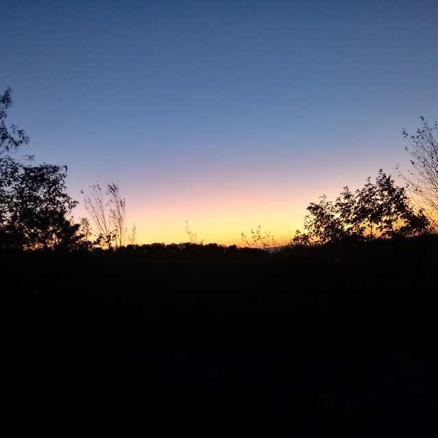 North Mtn sunset