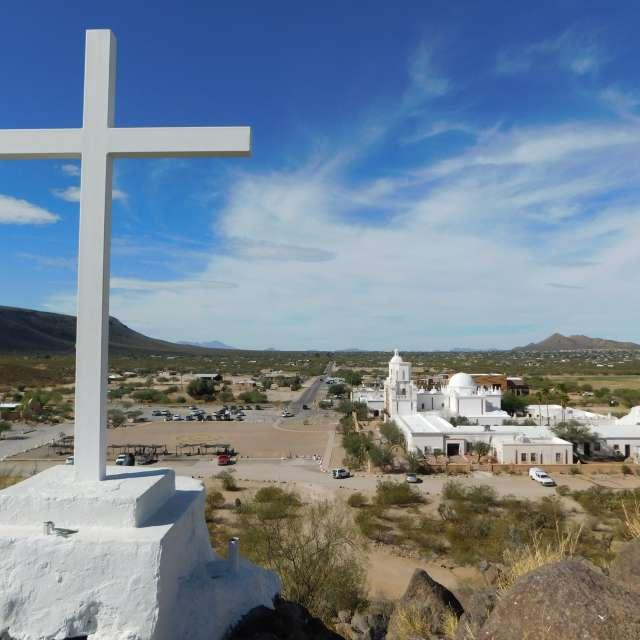 十字架の丘から