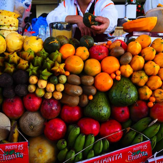Fruits from South America