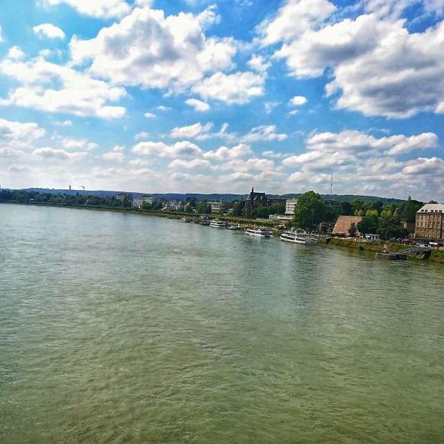 Bonn und Rhein
