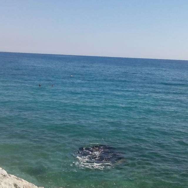 すごい心地よい海