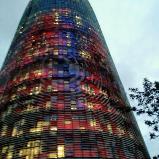 Torre Agbar , Barcelona
