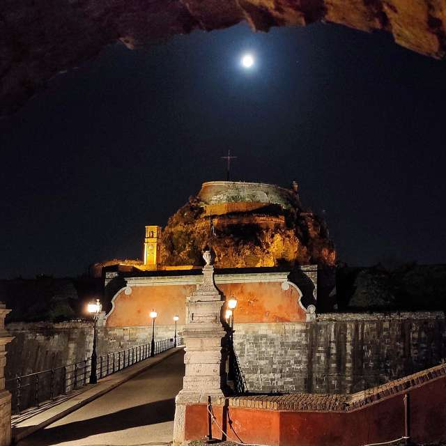 Το παλιό φρούριο της Κέρκυρας