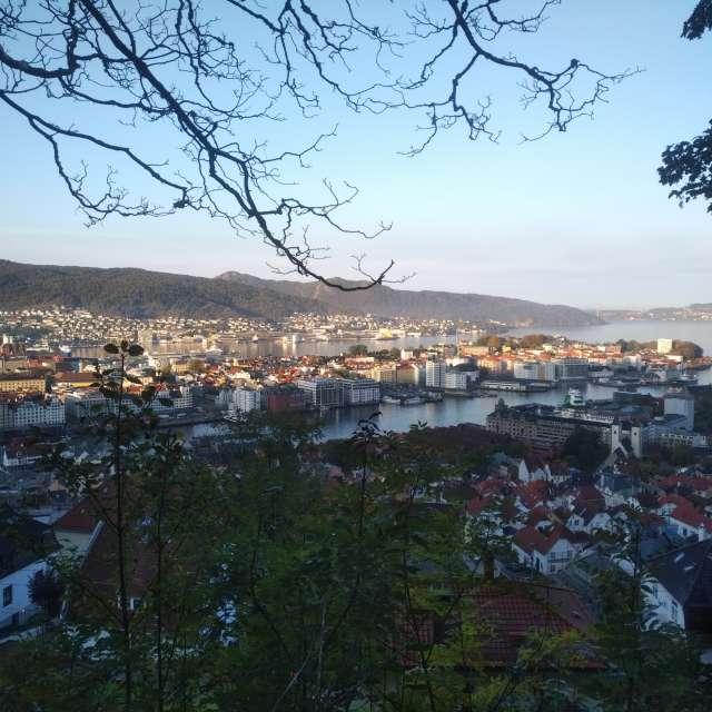 Bergen from Fjellveien