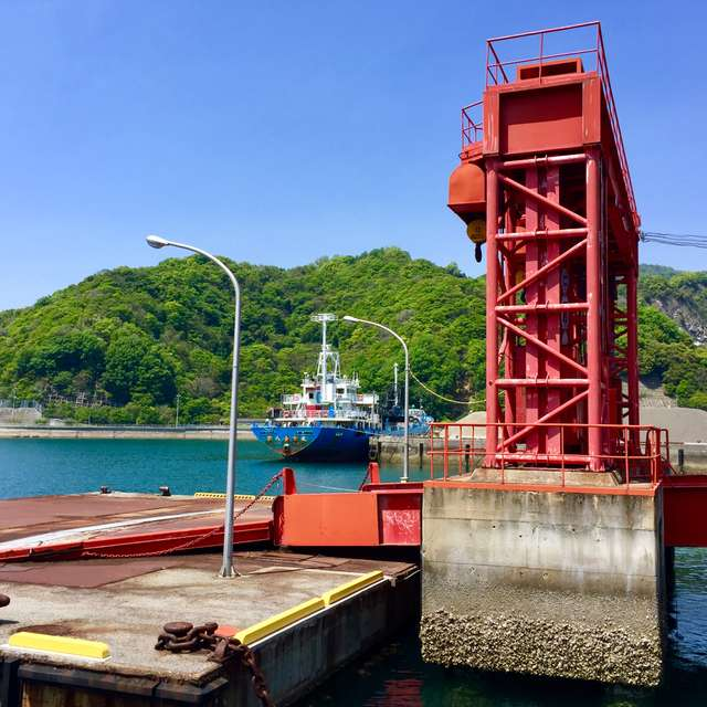 宮浦港の風景