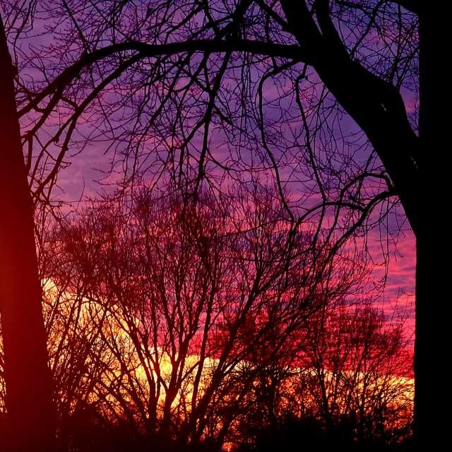 Se iowa sunrise