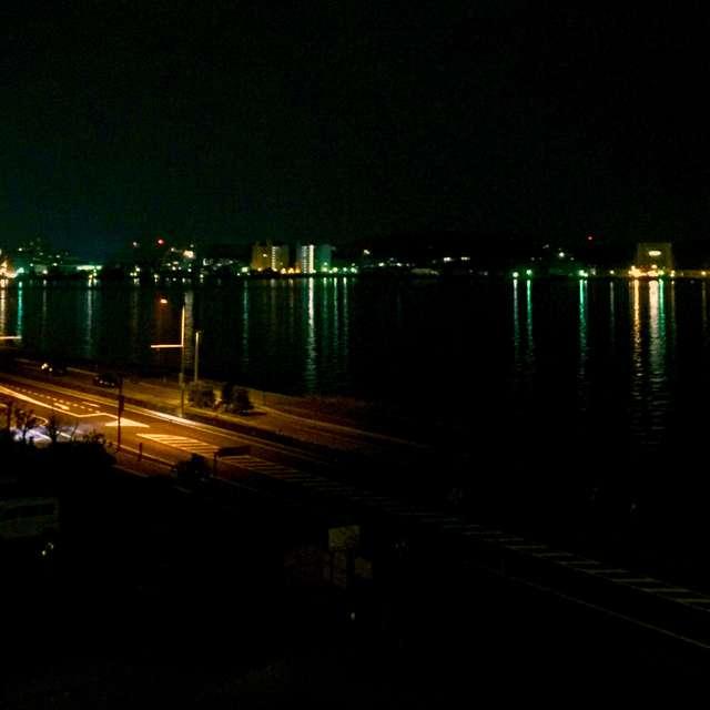 宍道湖の夜景