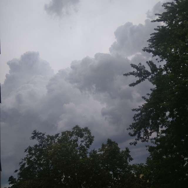 Piękne chmury