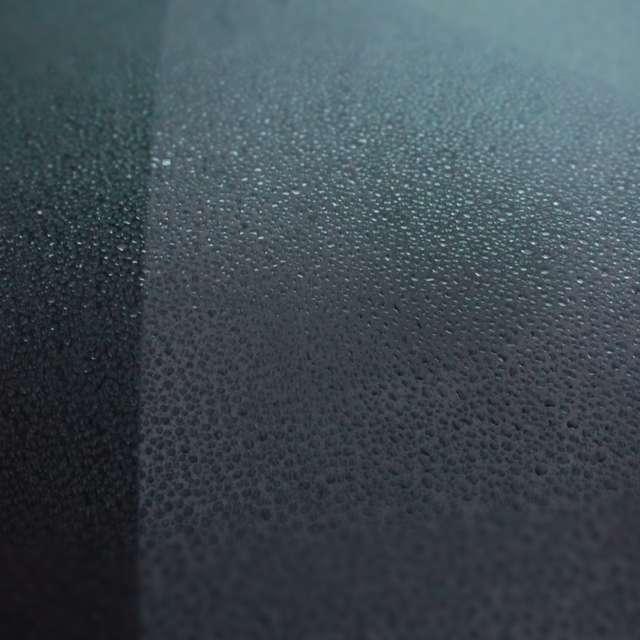 Rain on the windshield. 3/7/19