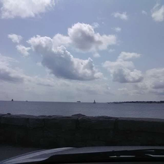 Fair Weather at Avery Point