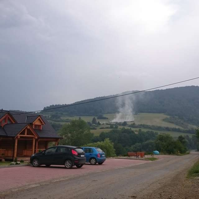 Smoke under the hill