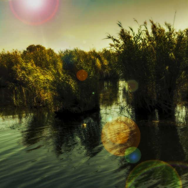 Dnieper melts, autumn.