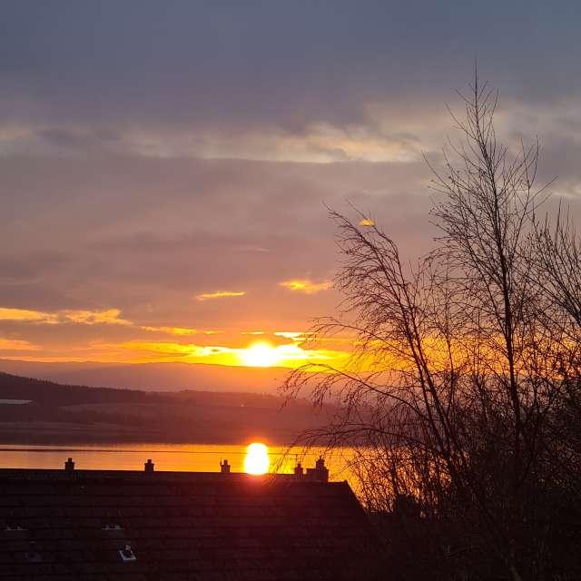 Sunrise Loch Gilp