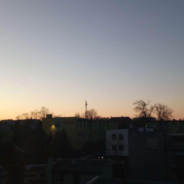 tramonto w Kościerzynie