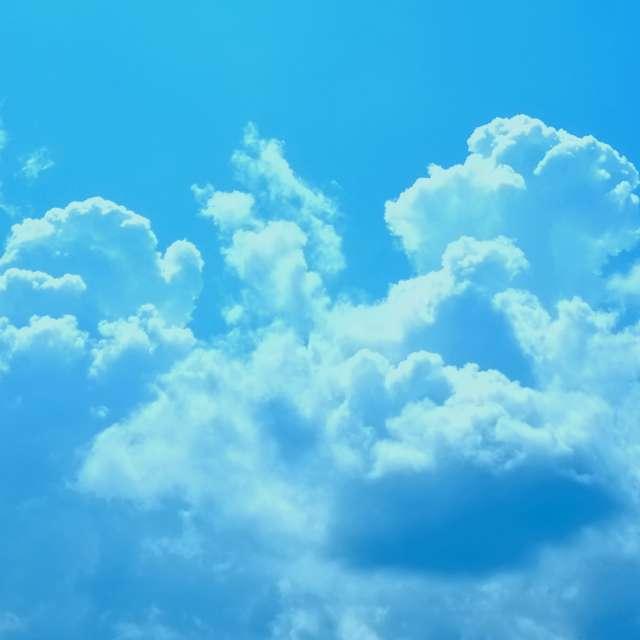 Powder Blue Sky