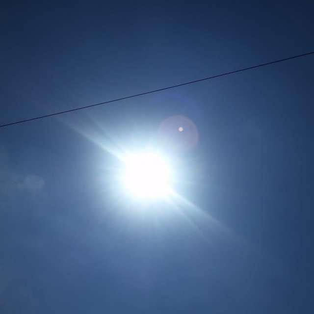 Blinding Sun
