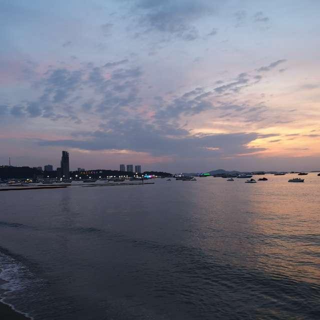 Pattaya Beach in Thailand