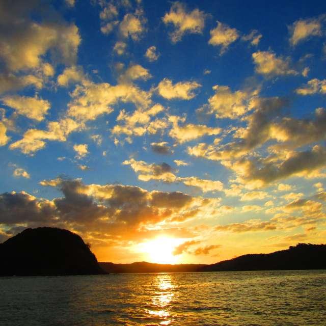 ロンボク島グルプックの朝