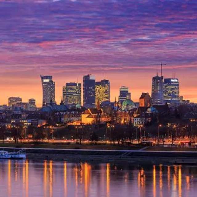 Warsaw Skyline  by Rico ®