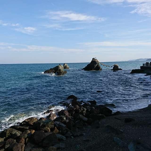 三重県夫婦岩付近