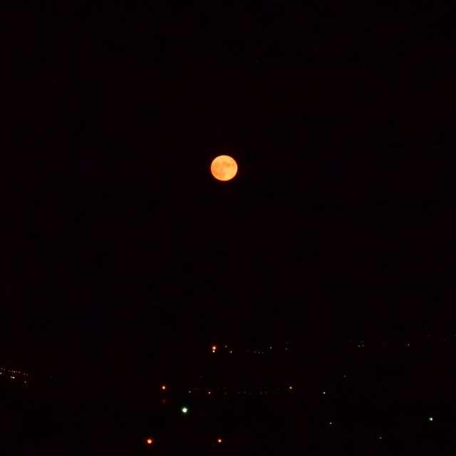 ciel en lune mois d'août