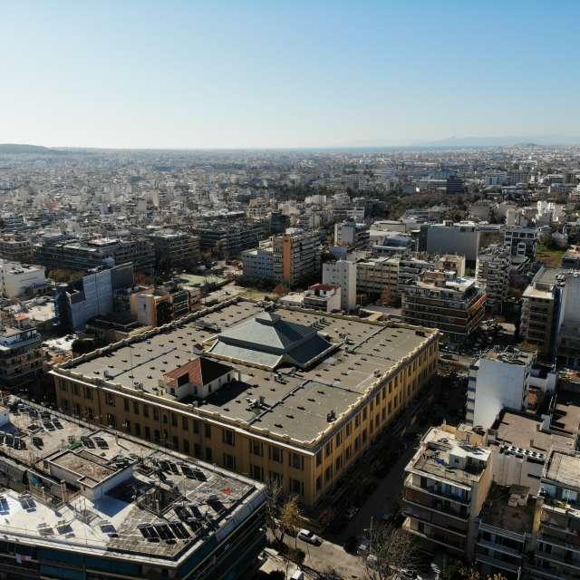 Kolonos Athens Greece by Air