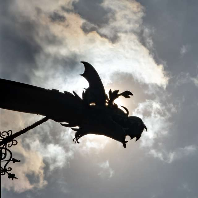 Dragon in the sky