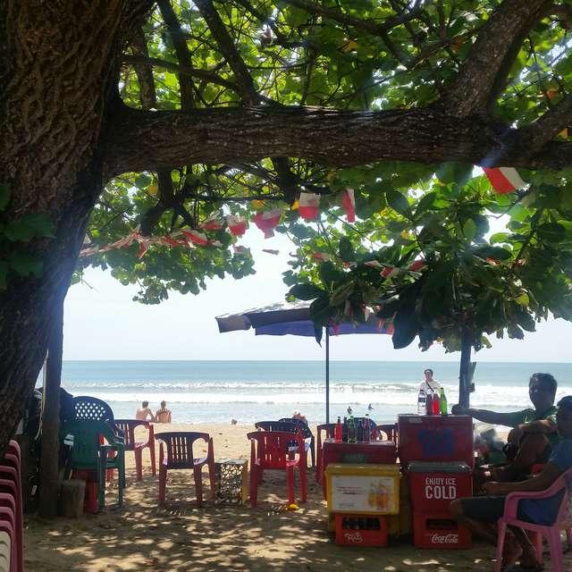 クタビーチの午後