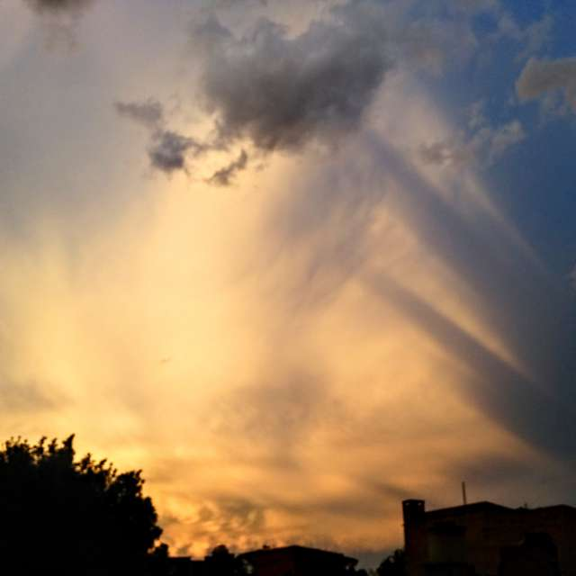 Dos cielos alternos