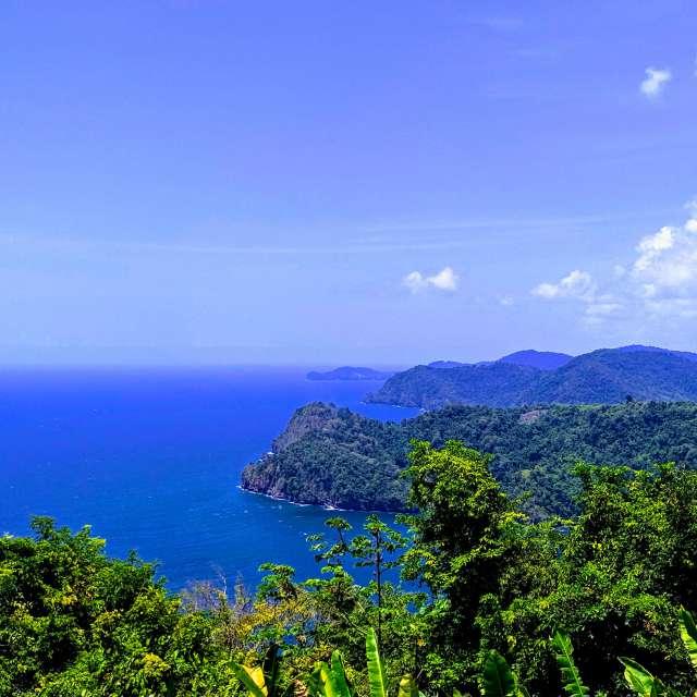 Maracas Bay look out