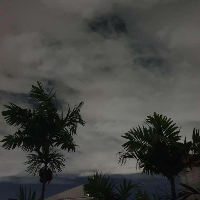 Ligeiramente nublado ☁