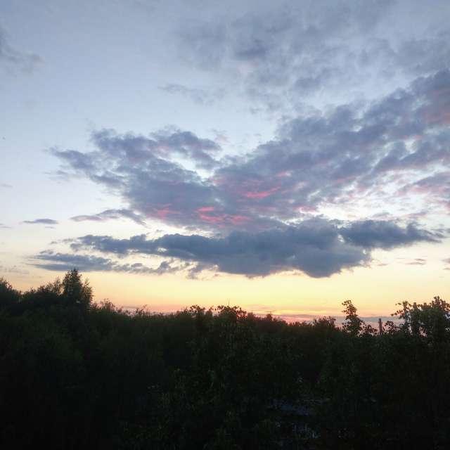 Закаты в Подольске