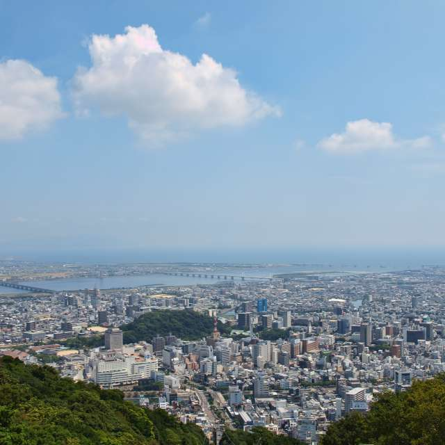 ★Tokushima City Japan★眉山から〜